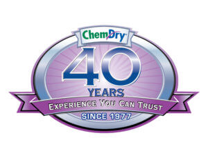 chem dry 40 year badge sonoma county